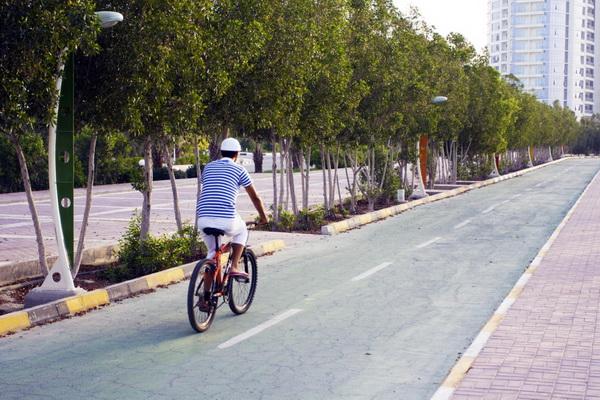 Biking path