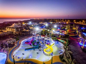 Opening of the first themed water park in the Kish Island coincide with the Fajr commemoration